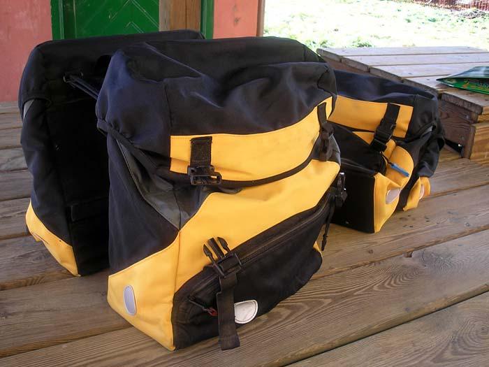 Taschen für Gepäckträger