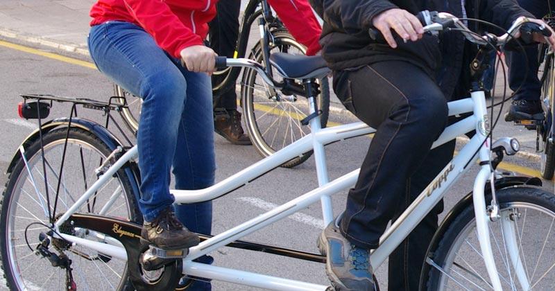 Lloguer de bicicletes tàndem