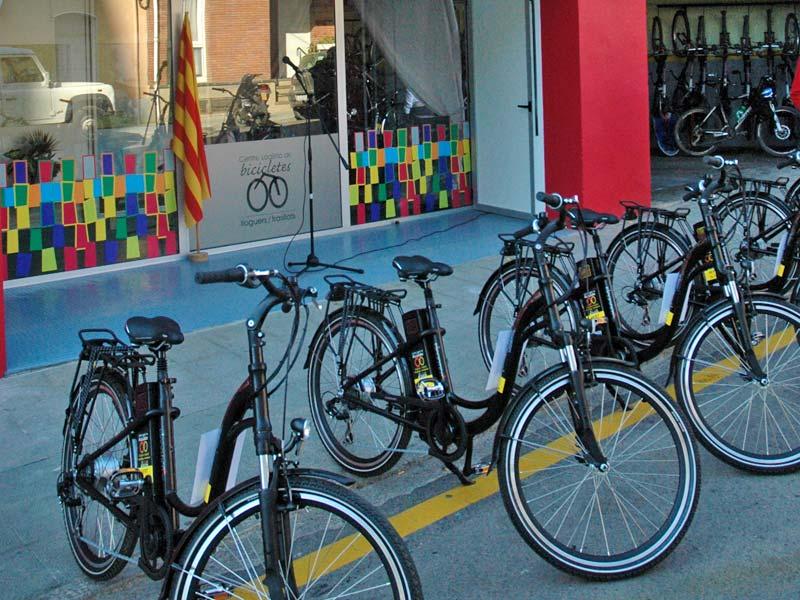 lloguer de bicicletes a Olot