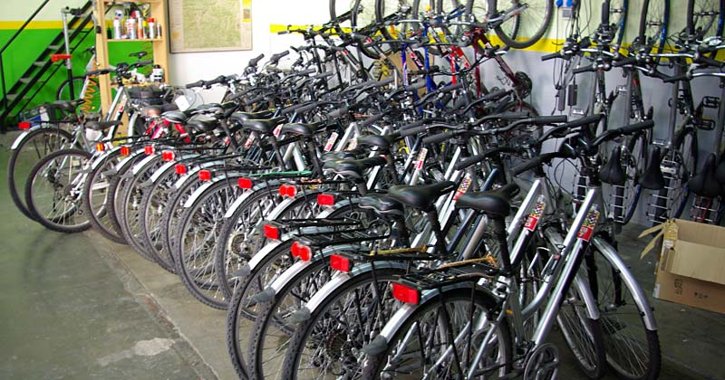 Alquiler de bicicletas en la Garrotxa