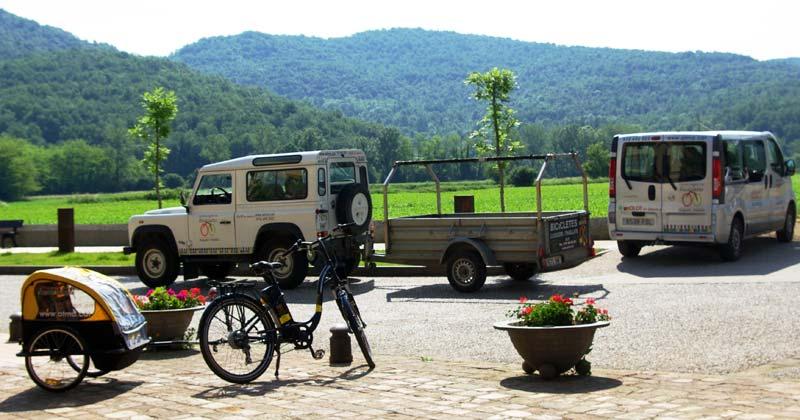 Transport von Fahrrädern