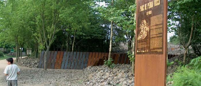 Parc de pedra Tosca a la Garrotxa