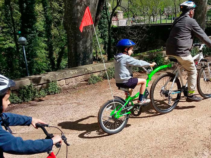 Kinder-Fahrradtrailer