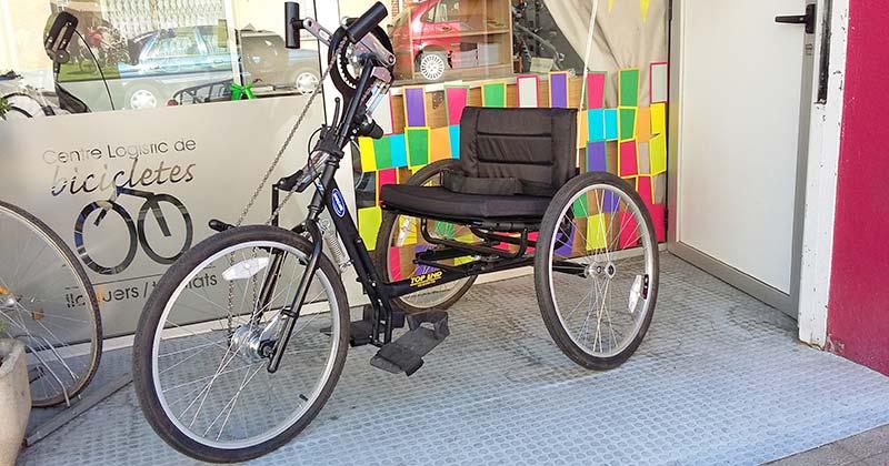 Bicicletes adaptades a la Garrotxa