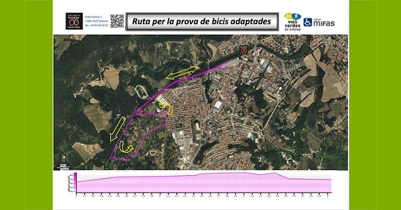 Routes en vélo adapté